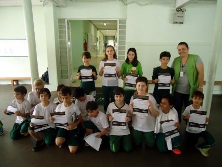 Equipe da Olimpíada Brasileira de Astronomia e Astronáutica.