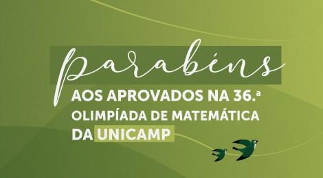 Alunos da Unidade de Itatiba se classificam para a última fase de Olimpíada da Unicamp (OMU)