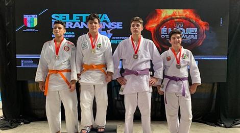Atletas do Bom Jesus conquistam seis medalhas de ouro no judô