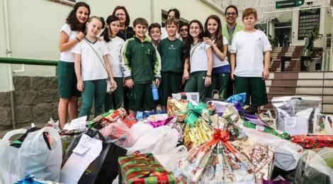 Natal solidário em Florianópolis