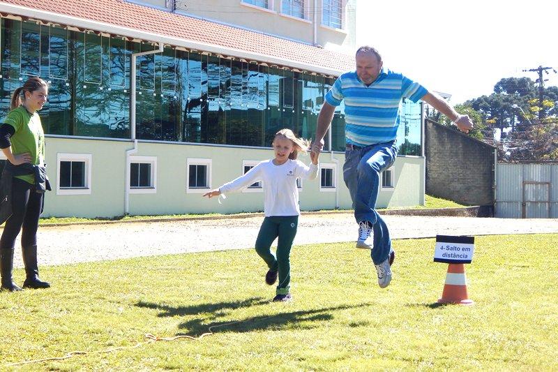 Dia dos Pais no Bom Jesus São Vicente, em Araucária (PR)