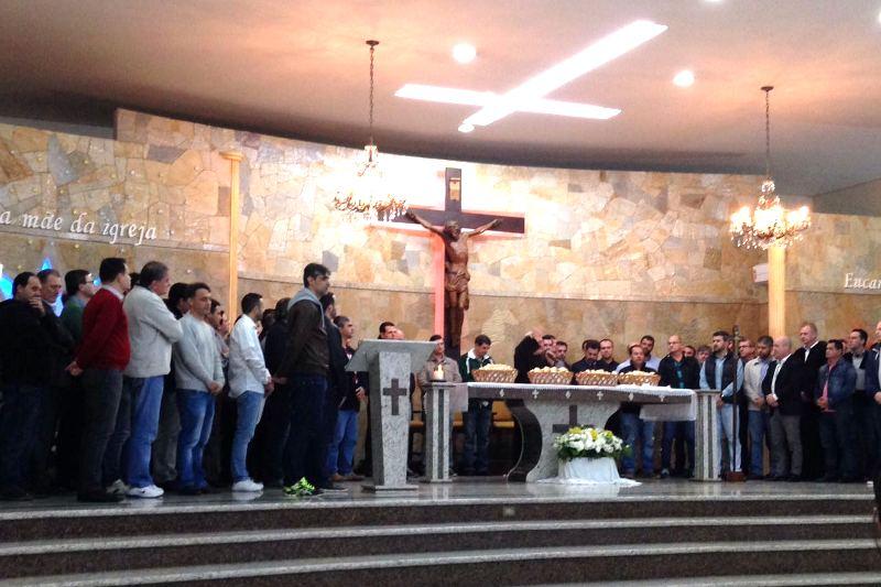 Dia dos Pais no Bom Jesus Santo Antônio, em Blumenau (SC)