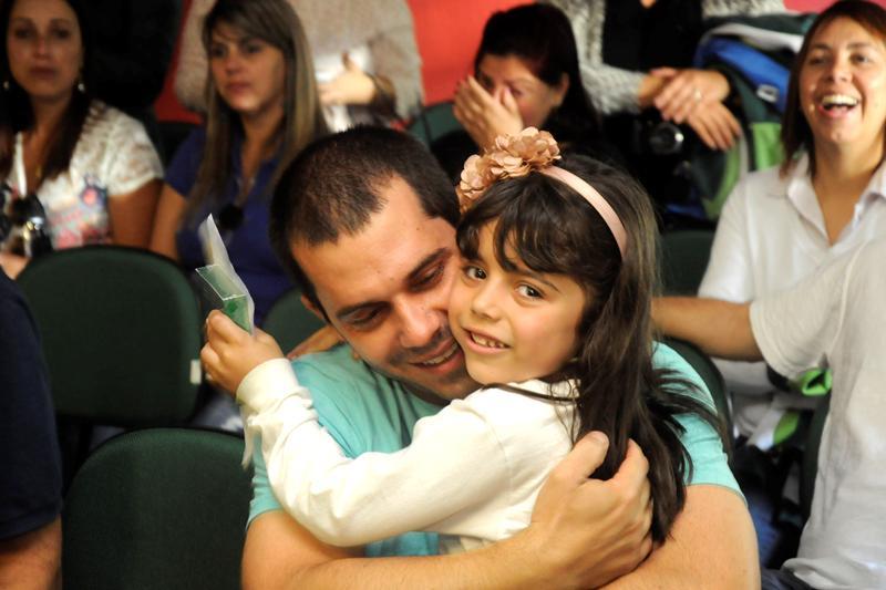 Dia dos Pais no Bom Jesus Canarinhos, em Petrópolis (RJ)
