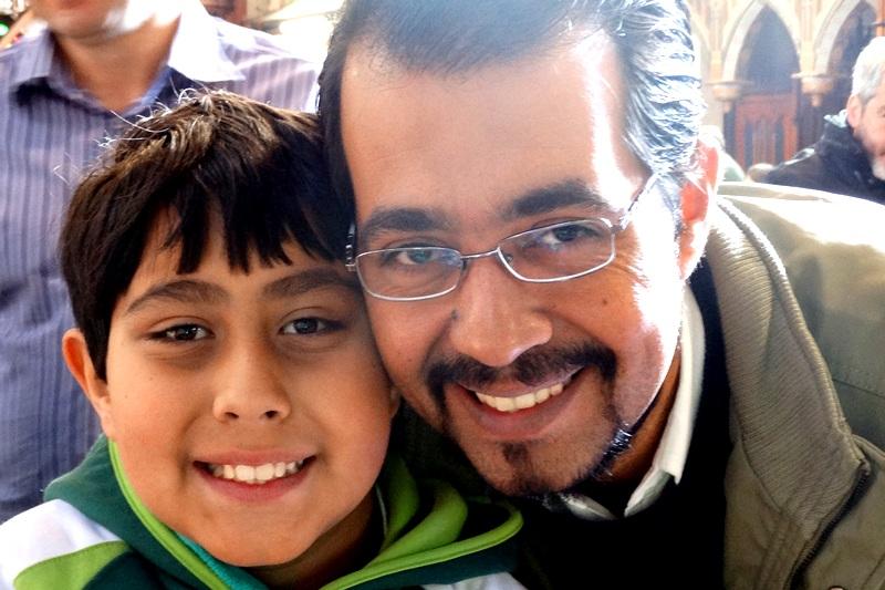 Dia dos Pais no Bom Jesus Centro, em Curitiba (PR)