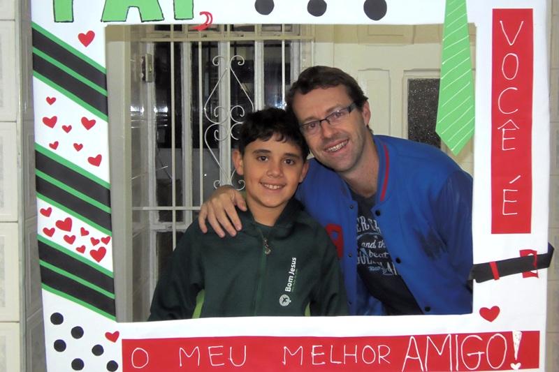 Dia dos Pais no Bom Jesus Menino Jesus. em Petrópolis (RJ)