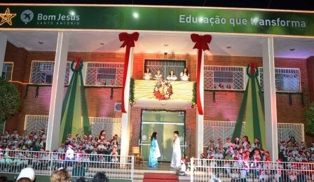 """Bom Jesus Santo Antônio celebra o """"verdadeiro sentido do Natal"""""""