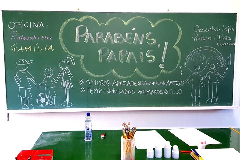 Dia dos Pais no Bom Jesus Coração de Jesus, em Florianópolis  (SC)
