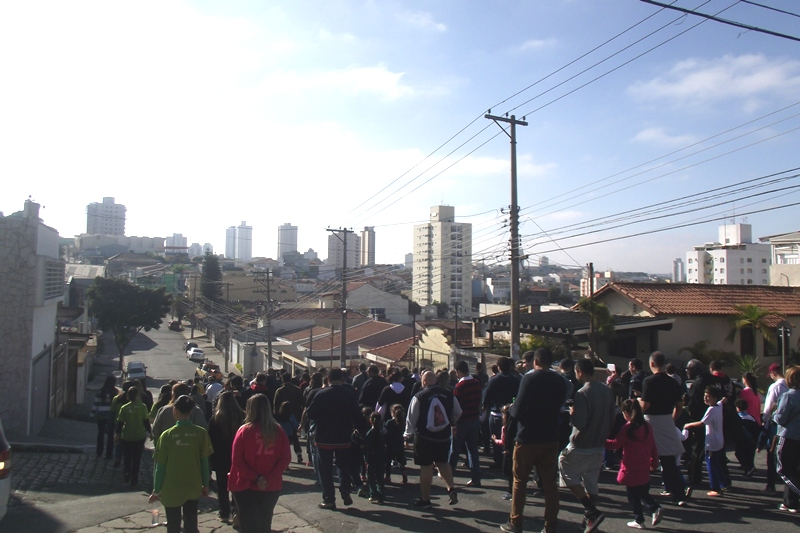 Dia dos Pais no Bom Jesus Vicente Pallotti, em São Paulo (SP)