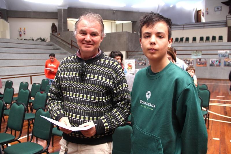 Dia dos Pais no Bom Jesus Escola Especial, em Campo Largo (PR)