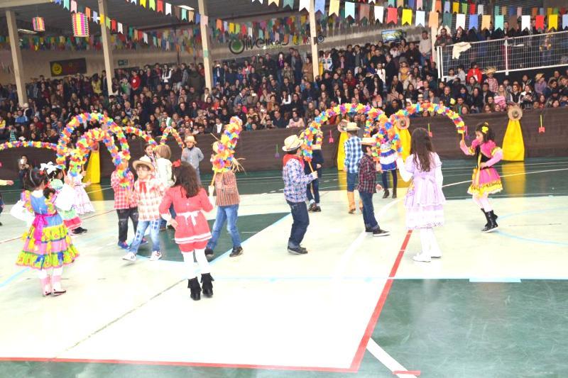 Festa Junina no Bom Jesus Centro, em Curitiba (PR)