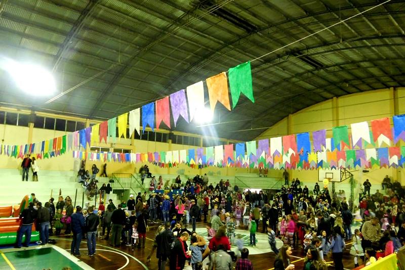 Festa Junina no Bom Jesus Aparecida, em Venâncio Aires (RS)