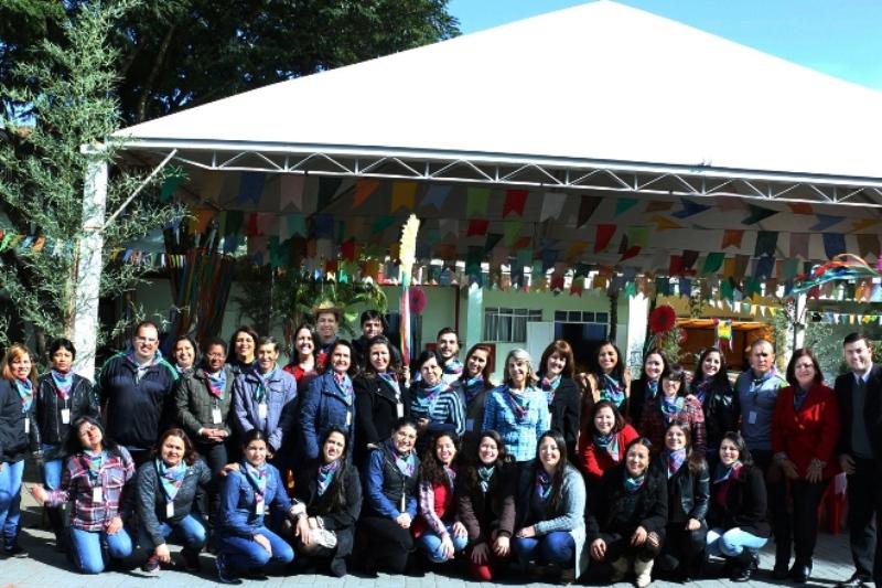 Festa Junina no Bom Jesus Mãe do Divino Amor, em Arapongas (PR)