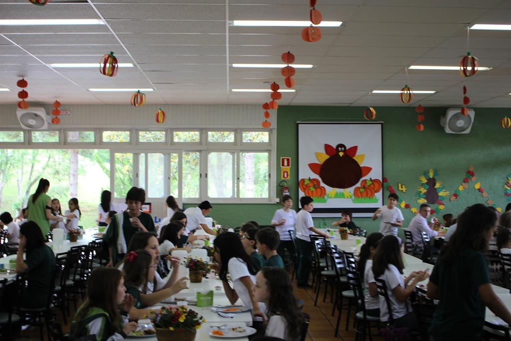 Comemorações do Thanksgiving Day no Bom Jesus Aldeia.