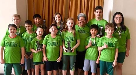 Blumenau conquista ouro no Brasileiro de Xadrez Escolar