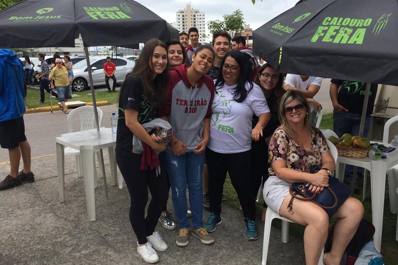 Alunos do Bom Jesus Florianópolis.