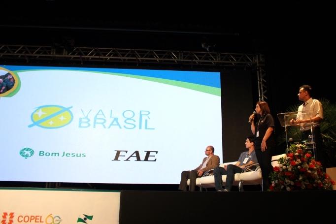 Apresentação da Valor Brasil no V Seminário de Boas Práticas Socioambientais da Copel.