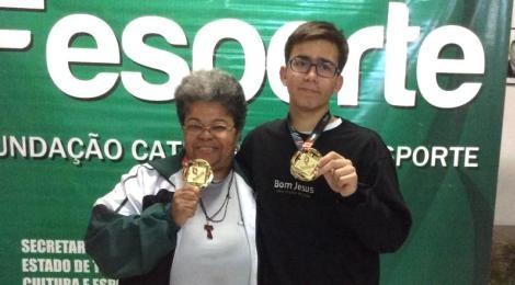 Aluno do Colégio Bom Jesus é campeão dos Jogos Escolares de Santa Catarina 2016