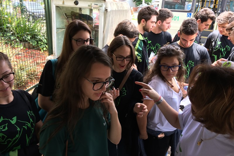 Concentração dos Feras do BJ Blumenau para o vestibular da Acafe 2017.