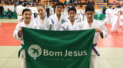 Aluno do Bom Jesus é campeão paranaense de Judô