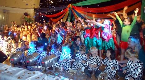 Alegria do circo marca Auto de Natal em São Bento do Sul
