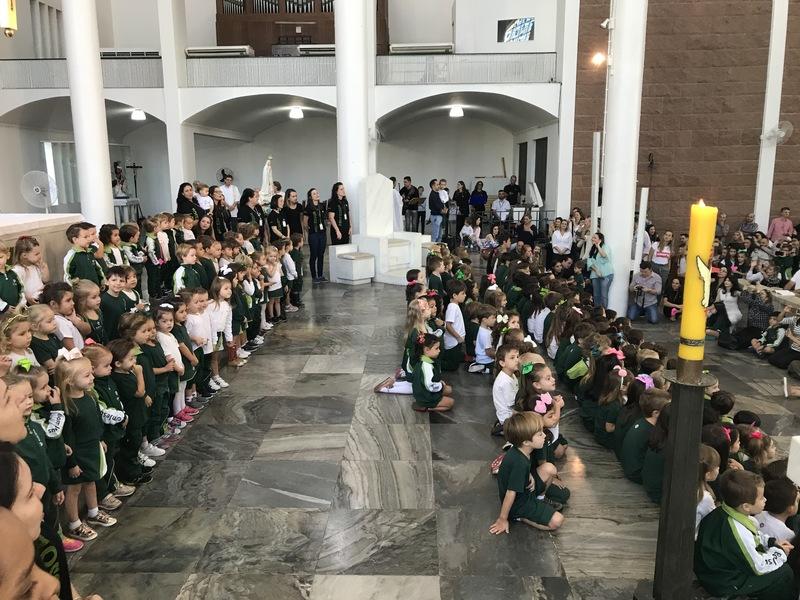 Colégio Bom Jesus Santo Antônio, em Blumenau (SC)