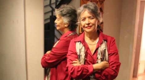 Escritora Ana Miranda no Bom Jesus