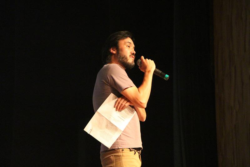 Professor Guilherme Shibata participa do Mundo Livro.