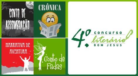 4.º Concurso Literário Bom Jesus