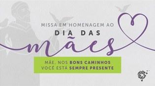 Convite: celebração em homenagem às mães