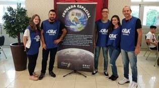 Alunos e professores do Bom Jesus participam da XVII Jornada Espacial