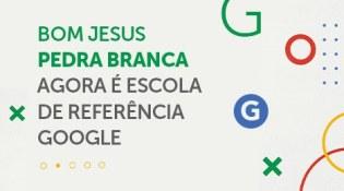 Bom Jesus, em Pedra Branca (SC), é uma Escola de Referência Google