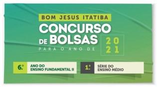 Bom Jesus Itatiba abre inscrições para bolsas de estudo