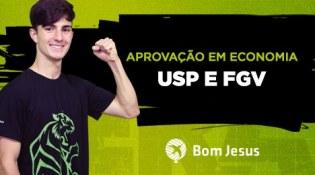 Estudante do Bom Jesus São José é aprovado na USP e FGV