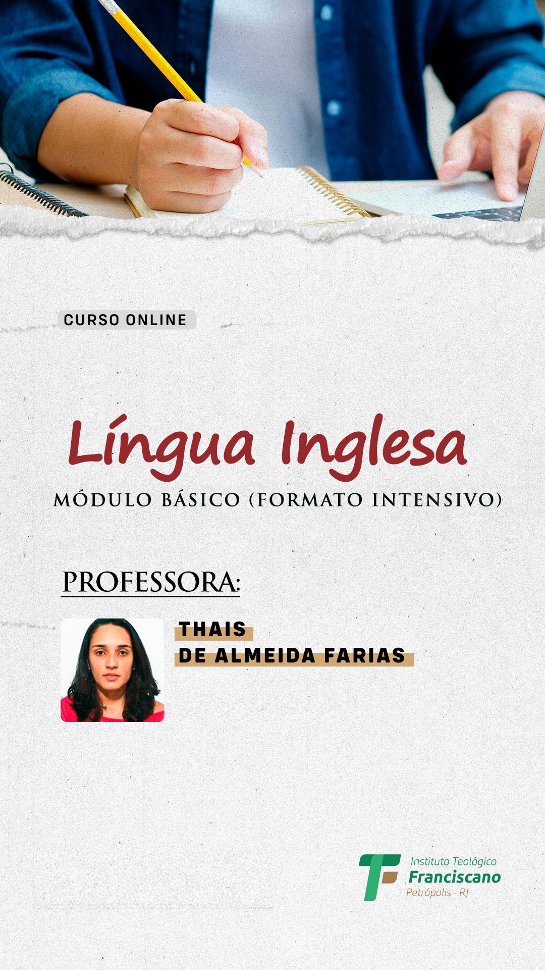 Língua Inglesa – Módulo básico (formato intensivo)