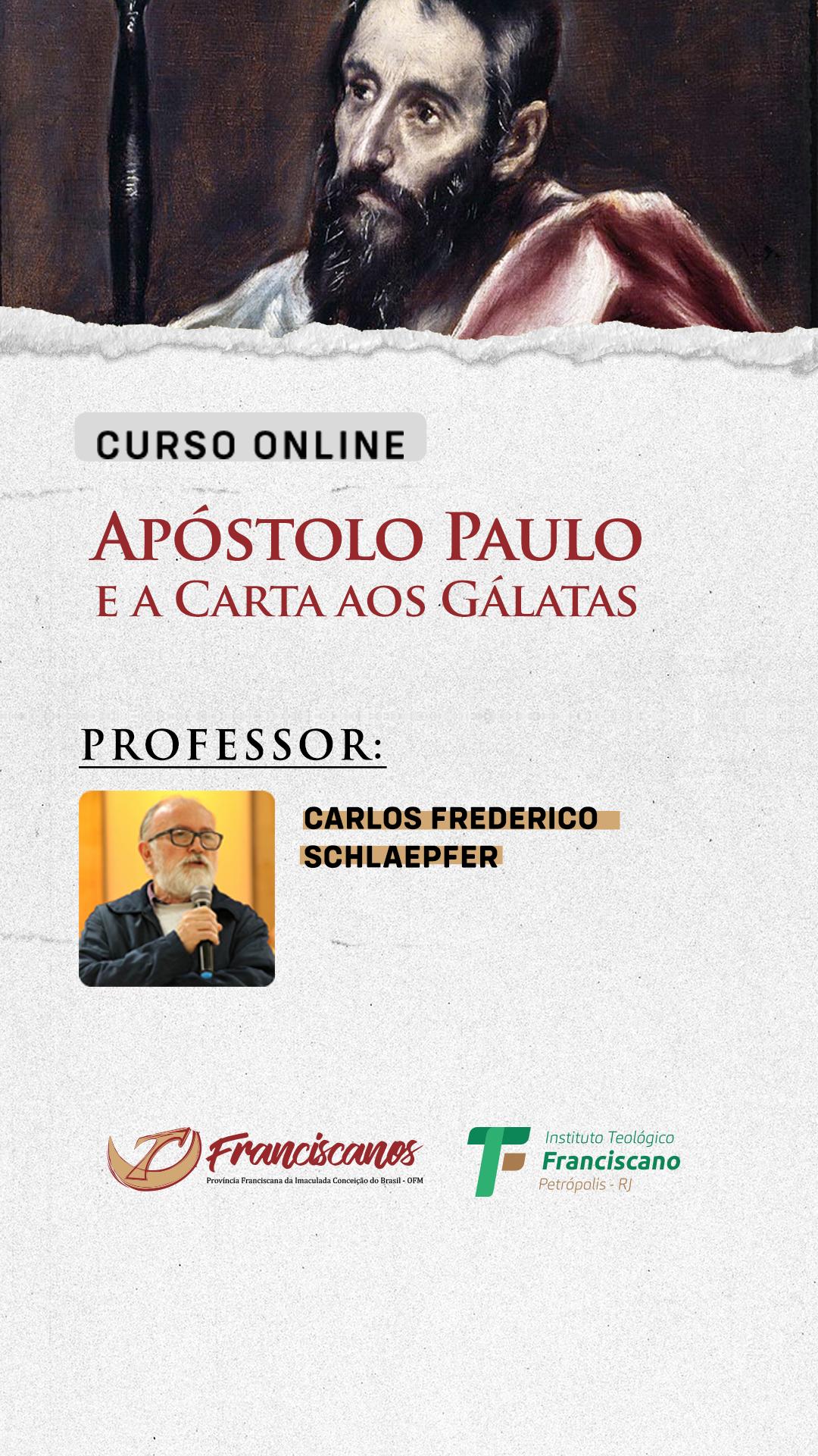 Curso de Extensão: O Apóstolo Paulo e a Carta aos Gálatas